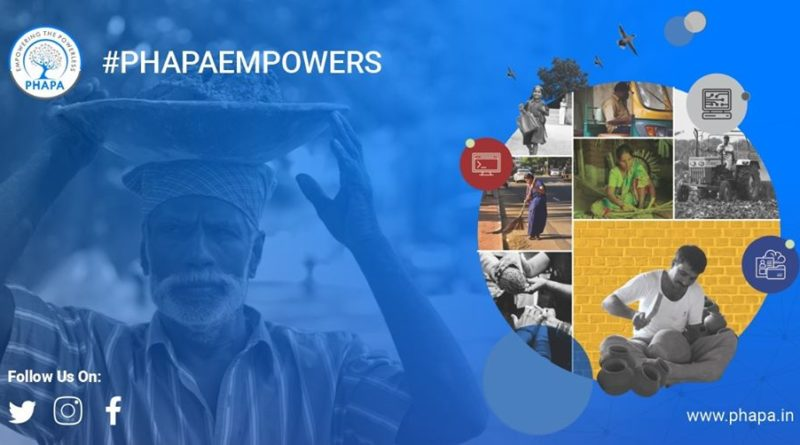 Phapa Technologies- assisting the unorganised workers to avail the benefits of government schemes.